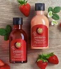 The Body Shop strawberry shampoo & conditioner 10ML SAMPLE DUO .  VEGAN