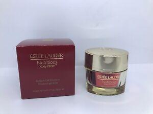 Estee Lauder Nutritious Rosy Prism Radiant Gel Emulsion 50ml/1.7oz New In Box