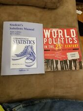 Fundamentals of Statistics by Sullivan, Michael, III and World politics 21st