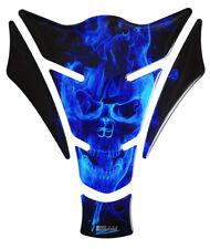 Tankpad 3D Ghost Blue 500060 universell passender Motorrad Tankschutz