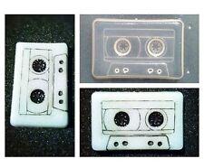 Flexible Resin Mold Music Cassette Tape