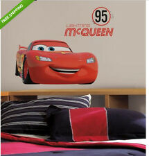 DISNEY CARS FRIENDS to the FINISH LIGHTNING MCQUEEN wall stickers MURAL 4 decals