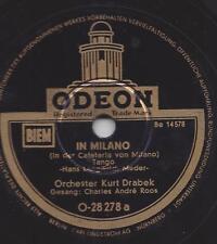 Charles Andre Roos mit dem Kurt Drabek : In der Cafeteria von Milano