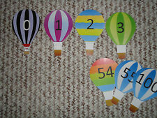 Teaching Resources -Number Line Display 0 to 100 - Balloons