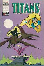 BD--TITANS N° 145-STAN LEE--SEMIC / FEVRIER 1991