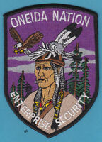 ONEIDA NATION NY WI TRIBAL POLICE SECURITY PATCH