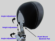 Adjustable & Detachable Sissy Bar/Backrest - Honda Shadow VT Ace/Sabre C2 1100