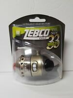 ZEBCO GOLD THE NEW MICRO 33 SPINCAST FISHING REEL