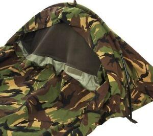 """Sleeping Bag Cover Bivy Bag """"Hooped"""" Bivy-Schlafsackhülle-Bogen-DPM NL L Neu"""