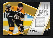2011-12 Upper Deck Series 2 Game Jersey GJ-ZC Zdeno Chara Boston Bruins