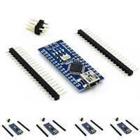 5PCS USB Nano V3.0 ATmega328P CH340G 5V 16M Micro controller Board For Arduino