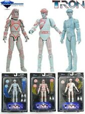 Tron 1982 Movie Action Figure Set of 3 Diamond Select Toys Brand New In Stock