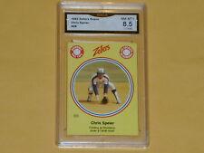 1982 Zellers Expos Baseball Card # 8B Chris Speier GRADE NM-MT+ 8.5