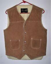 Leather Regular Size M Cowboy Vests for Men