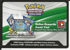 2 POKEMON TCG Online Booster Code - Shiny Rayquaza EX Box XY69