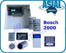 BOSCH ALARM Solution 2000 Kit 2 PIR 8 Zone System Free Programming