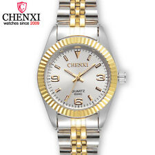 CHENXI Women Business Watch Nice Gold Stainless Steel Quartz Waterproof Watches