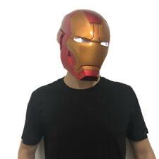 LED 1:1 Iron Man Helmet Avengers Endgame Cosplay Mask PVC Prop Halloween Costume