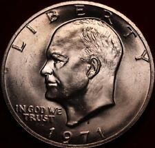 Uncirculated 1971-S San Francisco Mint Silver Eisenhower Dollar