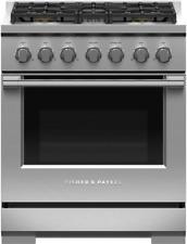 "Fisher & Paykel Rgv3-305N 30"" All Gas 5 Burner Range in Stainless Steel"