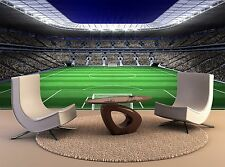 Large football stadium Soccer Giant Photo WallPaper Mural Decal Wall Art Decor