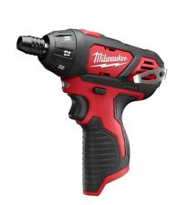 New 2401-20 Milwaukee M12 Cordless 1/4 in Hex Screwdriver FREE PRIORITY SHIPPING