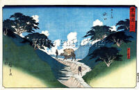 HIROSHIGE ANDO GFFGH ARTIST PAINTING REPRODUCTION HANDMADE OIL CANVAS REPRO DECO