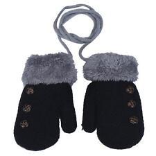 Newborn Baby Kids Girls Boys Child Gloves Winter Warm Stretchy Knitted Mittens