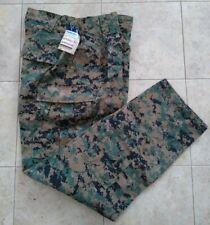 New USMC Woodland MARPAT FROG Combat Ensemble Pants Trouser Size Large Long