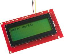 Serial Enabled 20x4 LCD Display, Black on Green 5V - SPARKFUN ELECTRONICS