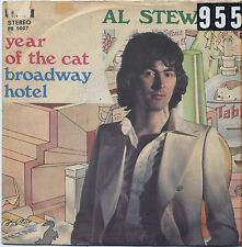 """AL STEWART - Year of the cat - VINYL 7"""" 45 LP ITALY 1977 VG+ COVER VG- CONDITION"""