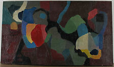 Monogrammiert H B datiert 61 - Abstrakt konstruktivistische Komposition