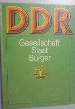 DDR Gesellschaft  Staat Bürger 1978 Voraussetzung,Grundlagen Triebkräfte