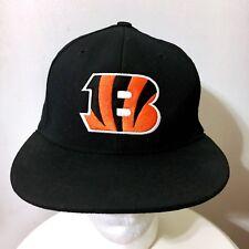 VINTAGE REEBOK CINCINNATI BENGALS SNAPBACK HAT BLACK ORANGE CAP NFL NOT FITTED