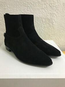Celine Jacno Boot Suede Calfskin Black size 8 dior slp ysl