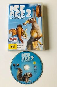 ICE AGE 2 The Meltdown DVD Includes All New Adventure Starring SCRAT
