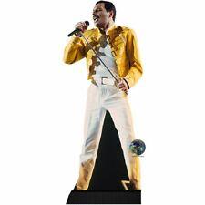 Freddie Mercury (Yellow Jacket) Cardboard Cutout (mini size). Standee. 09d3e1d587f4