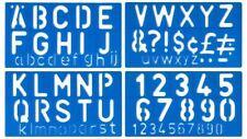 Major Brushes 50mm Signwriting Stencil Lettering Kit