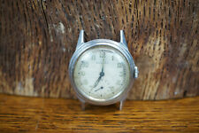 Vintage MOVADO Stainless Steel Manual Wind Wrist Watch - Working Condition