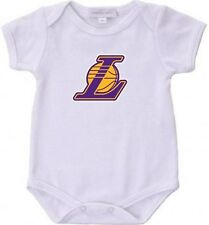 Lakers Basketball Baby Bodysuit Creeper New Adorable Gift New All Season