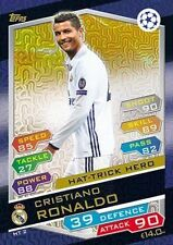 UEFA Champions League Real Madrid Football Trading Cards