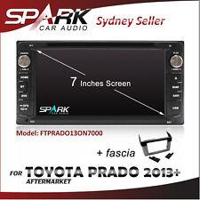 "7"" SP GPS DVD SAT NAV IPOD BLUETOOTH USB SD  RADIO FOR TOYOTA PRADO 2013+"