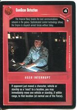 Star Wars CCG Hoth Black Border ComScan Detection