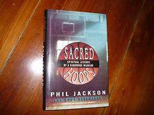 Sacred Hoops: Spiritual Lessons of a Hardwood Warrior Phil Jackson Signed 1st