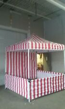 Concession Stand, Carnival Booth, Tent. Pop Up Canopy By Fun Attractions Usa