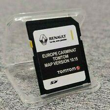 LATEST 10.15 RENAULT TomTom CARMINAT SD CARD EUROPE & UK MAP 2019 - 2020