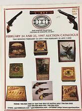 Sporting,Gun & related Advertising, Tins, Boxes Auctions (3 catalogs, 5862 lots!