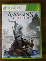 USED (Complete) Assassin's Creed III (Microsoft Xbox 360) - Free Shipping