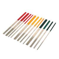 12Pcs Diamond Coated Needle Flat File Set for Stone Jewelry Repair Tool 7 Inch