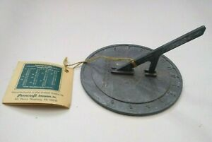 Metal Sundial By Penncraft